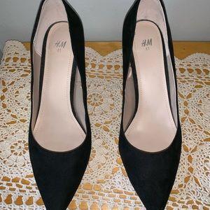 H&M Women's Heels Pumps size US 9.5, EUR 41 black